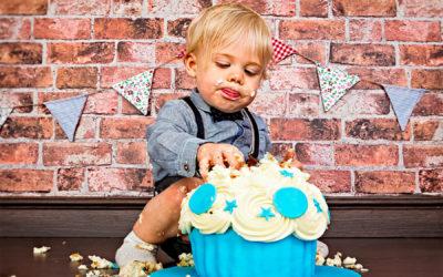 Alfie's Cake Smash and Family Shoot
